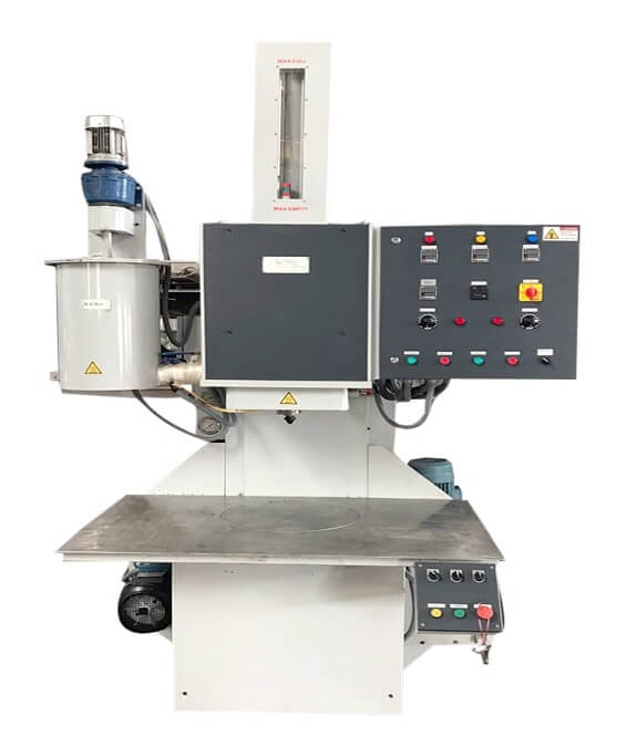 VERTICAL WAX INJECTION MACHINE